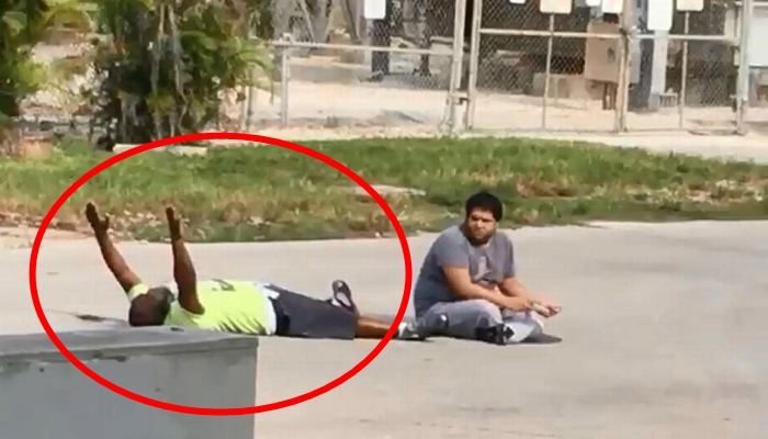 '자폐증 환자' 돕던 남성에 경찰이 총 쏜 뒤 한 말