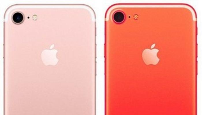 '빨간 아이폰7' 정말 나올까…애플, 3월말 공개설