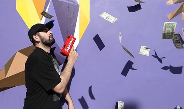 힙합퍼들 사이에서 난리난 '슈프림 머니건' (영상)