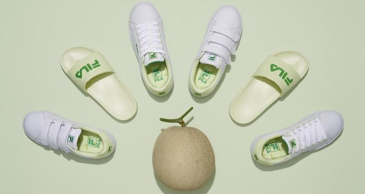 '휠라 x 빙그레 = 메로나 신발♥' 재밌는 협업 제품 출시