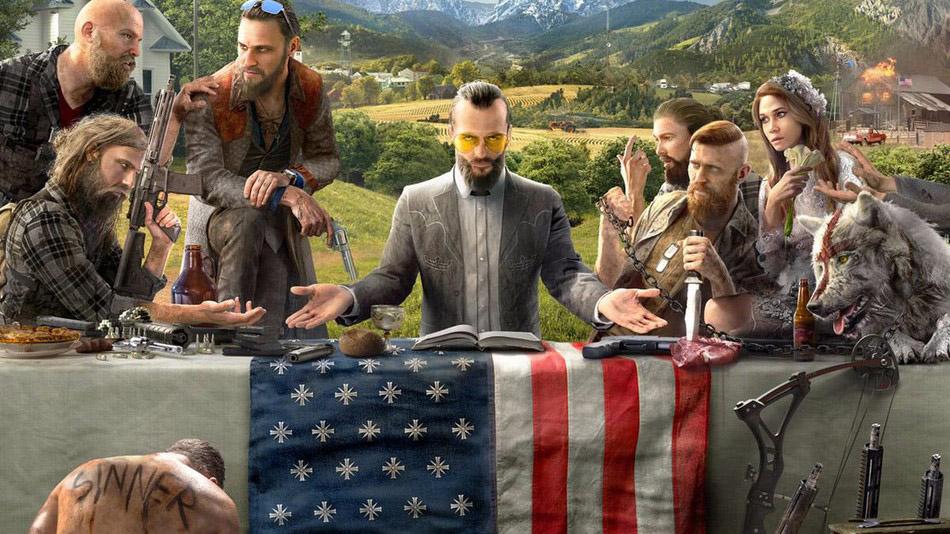 사이비 종교와 싸운다...처음 공개된 게임 '파크라이 5' (영상)