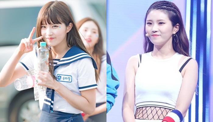 팬들 놀라게 한 '아이돌학교' 송하영 헤어스타일