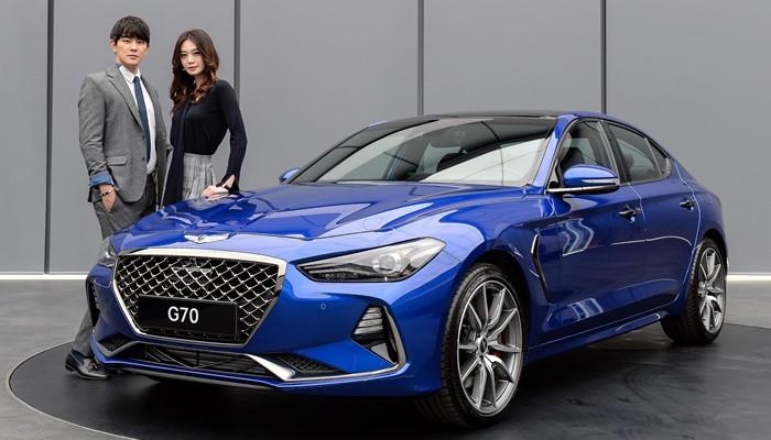 제네시스 G70, BMW 3시리즈·벤츠 C클래스와 경쟁한다