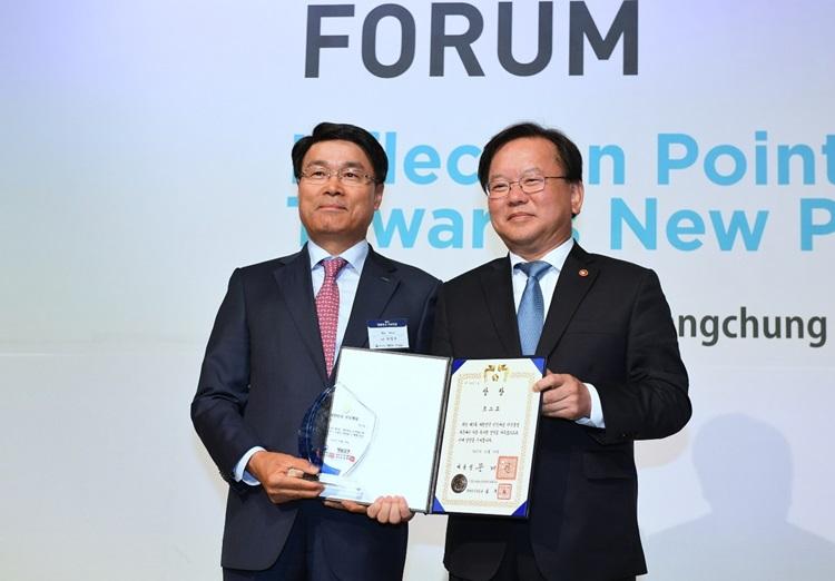 '대한민국 지식대상' 대통령상 수상한 포스코