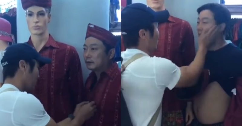 김병만이 쇼핑하다가 만난 이수근 마네킹 (영상)