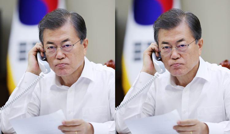 '세월호 유골 은폐' 보고 받고 분노한 문재인 대통령 (해수부 간부 보직해임)