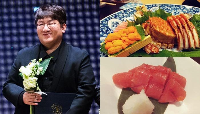 """""""배우신 분"""" 맛있는 음식만 골라서 잘 찍는 방시혁 대표의 미식 사진 11선"""