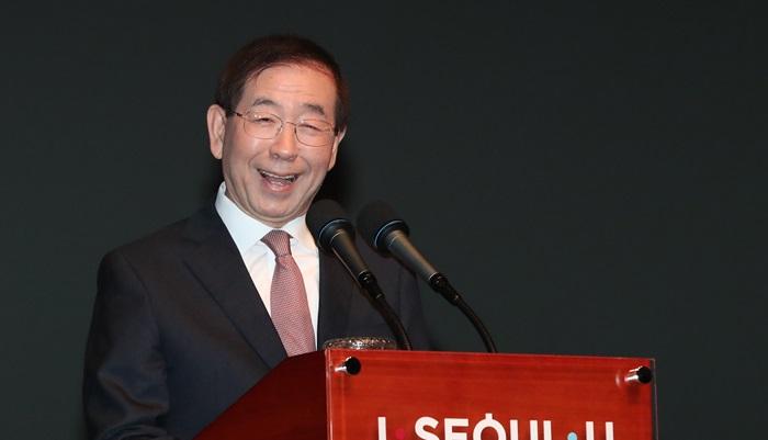 """박원순 """"서울시장 3선 도전 결심했다"""""""