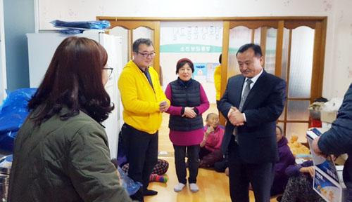 서울 신촌장로교회 60여명, 장흥군에서 봉사활동 펼쳐