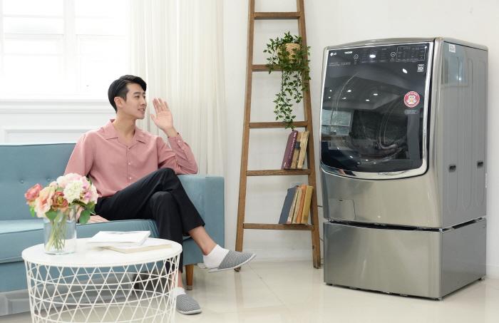 """""""커피 묻은 옷 세탁 방법 알려줘""""…사람 말을 알아듣는 세탁기"""