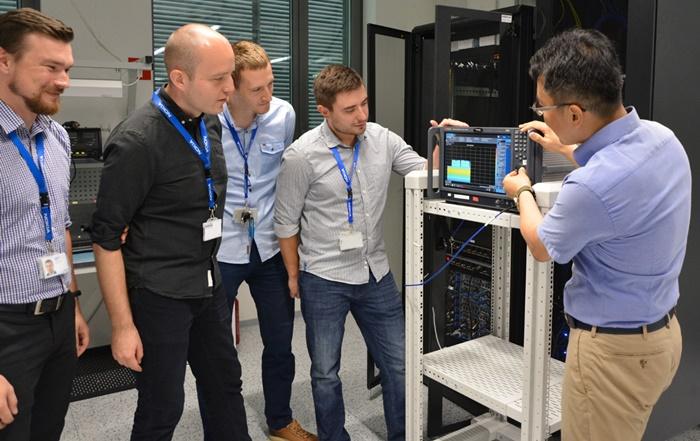 SKT-노키아, 5G 단독 규격 기반 데이터 전송 시연 성공