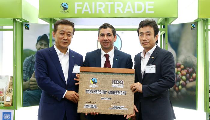 """""""착한 무역 동참에 감사해"""" 한국 찾은 국제공정무역기구 글로벌 CEO"""